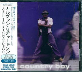 Calvin Richardson - Country Boy (1999) {Japanese Edition}