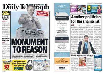 The Daily Telegraph (Sydney) – August 31, 2017