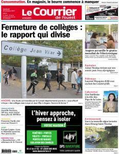 Le Courrier de l'Ouest Angers - 20 Octobre 2017
