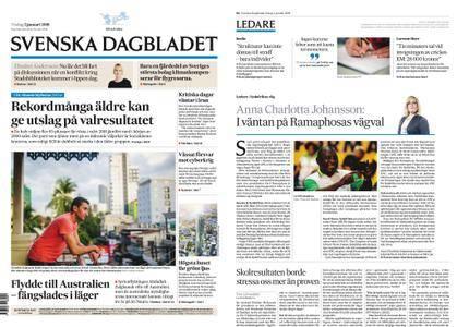 Svenska Dagbladet – 02 januari 2018