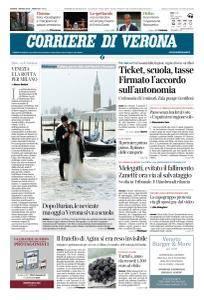Corriere di Verona - 1 Marzo 2018