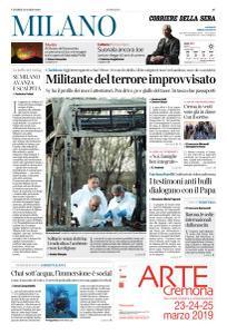 Corriere della Sera Milano - 22 Marzo 2019