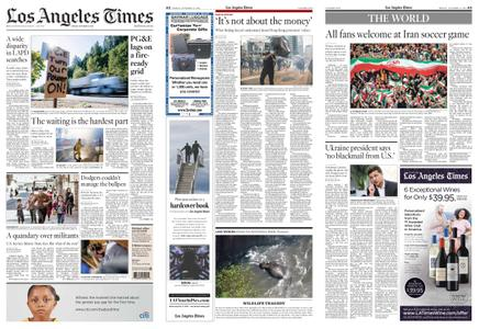 Los Angeles Times – October 11, 2019