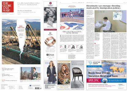 The Globe and Mail – April 14, 2018