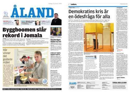 Ålandstidningen – 23 januari 2018