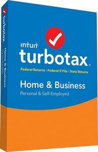 Intuit TurboTax Home & Business 2017