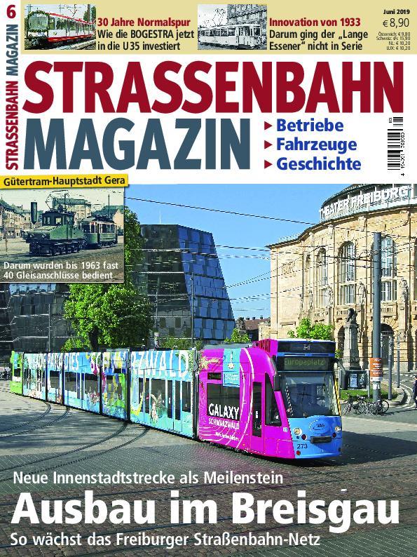 Strassenbahn Magazin – Mai 2019