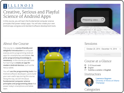 Coursera Creative Serious And Playful Science Of