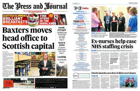 The Press and Journal Moray – January 23, 2018
