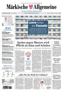 Märkische Allgemeine Luckenwalder Rundschau - 18. Juli 2019