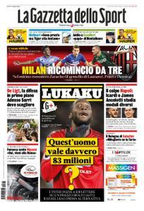 La Gazzetta dello Sport Roma – 18 luglio 2019