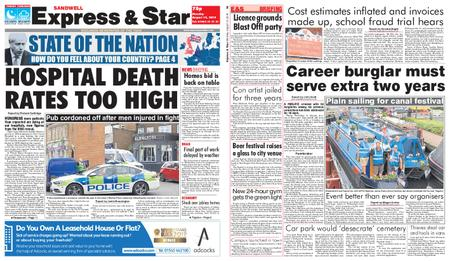 Express and Star Sandwell Edition – August 12, 2019