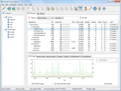 LizardSystems Remote Process Explorer 5.3.0 build 277 Business