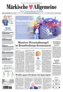 Neue Oranienburger Zeitung - 22. Oktober 2018