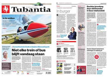 Tubantia - Enschede – 28 mei 2019