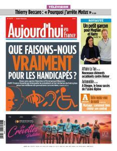 Aujourd'hui en France du Mardi 7 Mai 2019