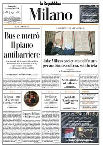 la Repubblica Milano - 3 Novembre 2019