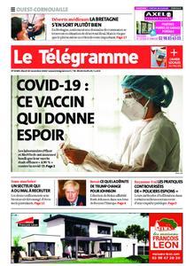 Le Télégramme Ouest Cornouaille – 10 novembre 2020