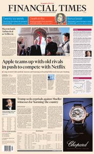 Financial Times Europe – 26 March 2019