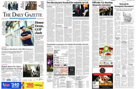 The Daily Gazette – December 13, 2019