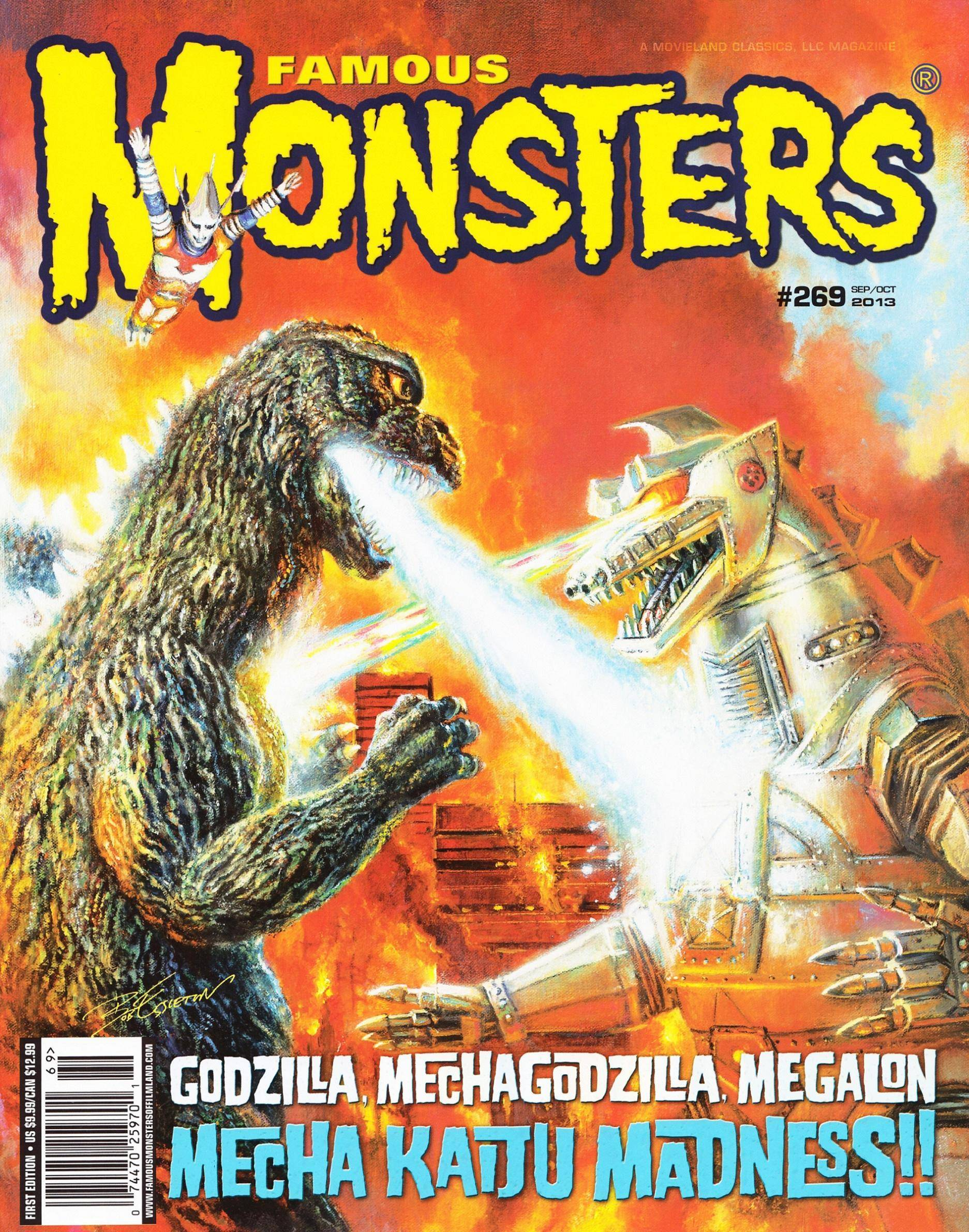 Famous Monsters of Filmland 269 2013
