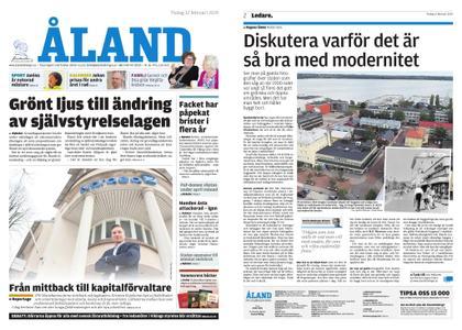 Ålandstidningen – 12 februari 2019