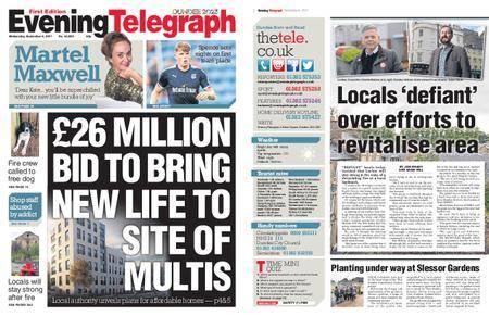 Evening Telegraph First Edition – September 06, 2017