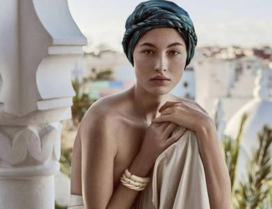 Grace Elizabeth by Giampaolo Sgura for Vogue Russia April 2018