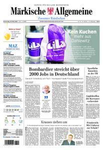 Märkische Allgemeine Zossener Rundschau - 29. März 2018