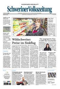 Schweriner Volkszeitung Hagenower Kreisblatt - 08. Januar 2018