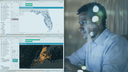Mapping Spatial Data in Tableau Desktop