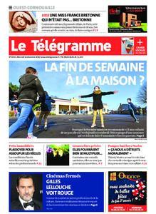 Le Télégramme Ouest Cornouaille – 16 décembre 2020