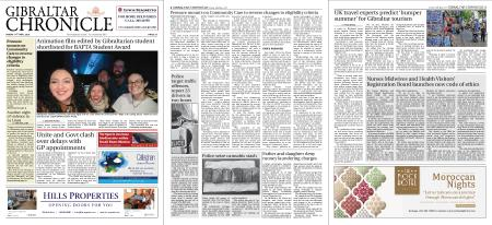 Gibraltar Chronicle – 14 May 2021