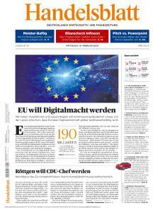 Handelsblatt - 19 Februar 2020