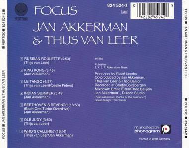 Jan Akkerman & Thijs Van Leer - Focus (1985)