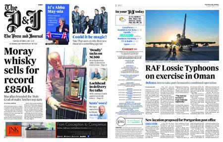 The Press and Journal Moray – October 04, 2018