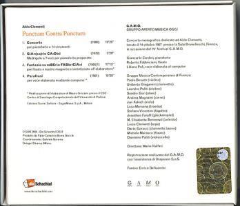 G.A.M.O.  - Aldo Clementi: Punctum Contra Punctum (2005) (Repost)