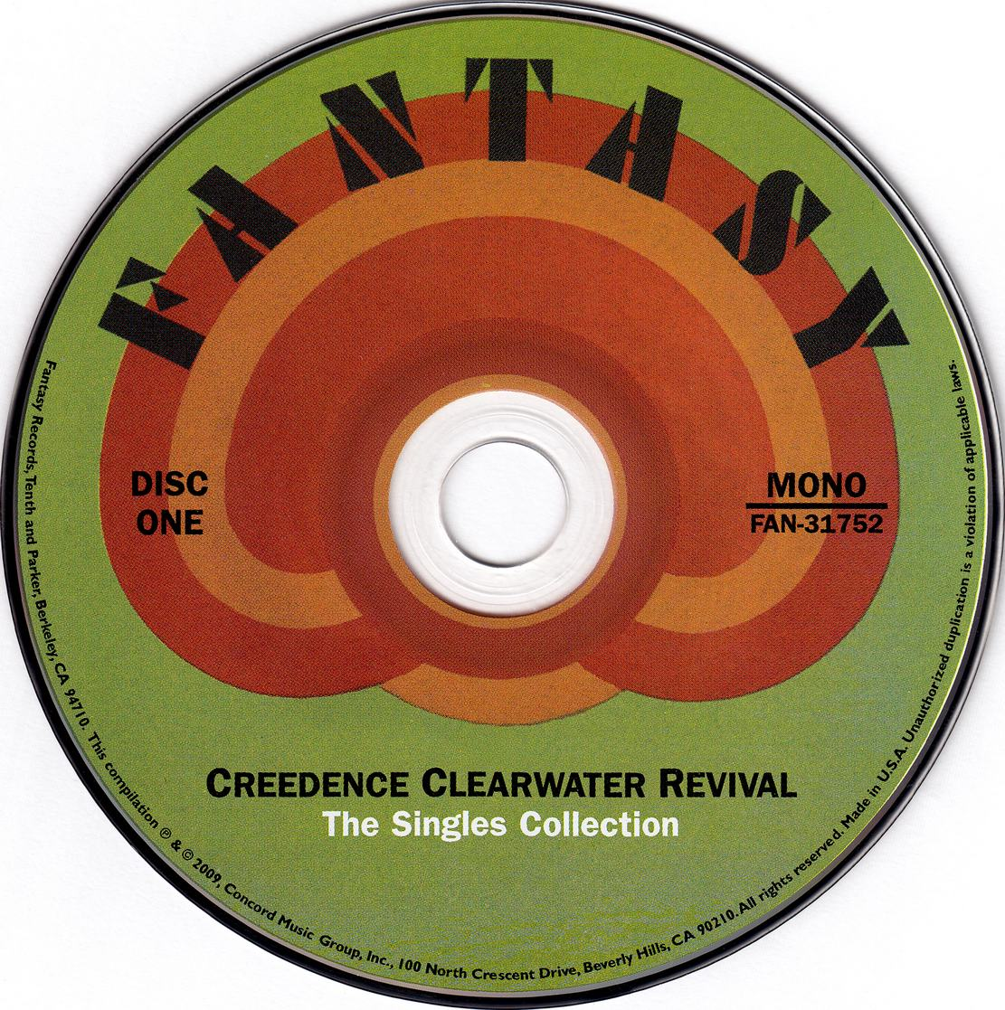 Creedence Clearwater Revival - The Singles Collection (1968