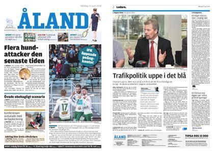 Ålandstidningen – 23 april 2018