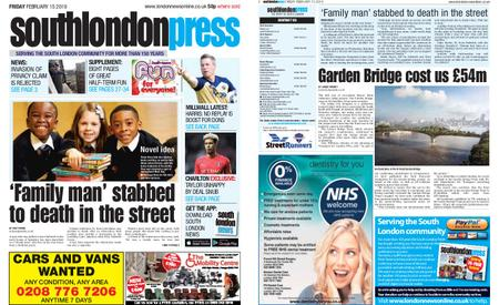 South London Press – February 15, 2019