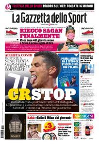 La Gazzetta dello Sport Roma – 14 ottobre 2020