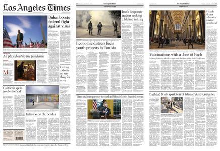 Los Angeles Times – January 22, 2021