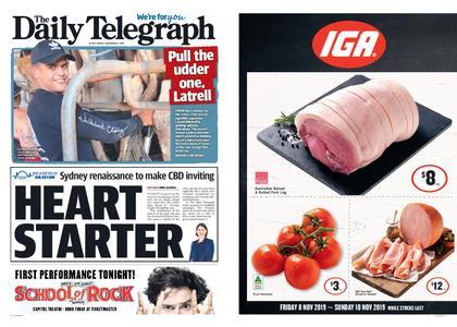 The Daily Telegraph (Sydney) – November 08, 2019