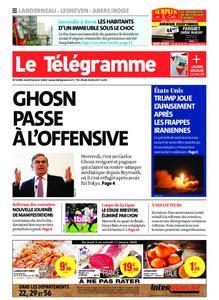 Le Télégramme Brest Abers Iroise – 09 janvier 2020