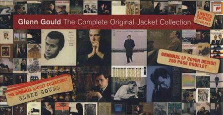 Glenn Gould - The Complete Original Jacket Collection (Limited Edition 80CD Box Set, 2007)