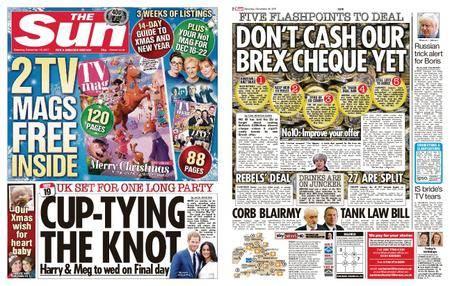 The Sun UK – 16 December 2017
