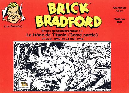 Brick Bradford - Tome 11 - Le Trone de Titania 3 (Strips)