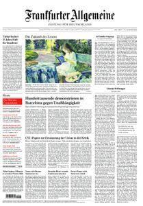 Frankfurter Allgemeine Zeitung F.A.Z. - 09. Oktober 2017