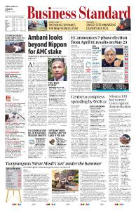 Business Standard - March 11, 2019