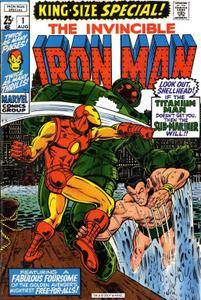 Iron Man Annual v1 001 Complete Marvel Collection